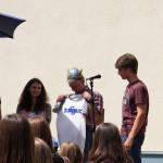 Verabschiedung Helmut Wittmann am Schulfest 2015