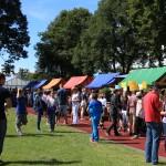 Ständemeile am Schulfest 2015