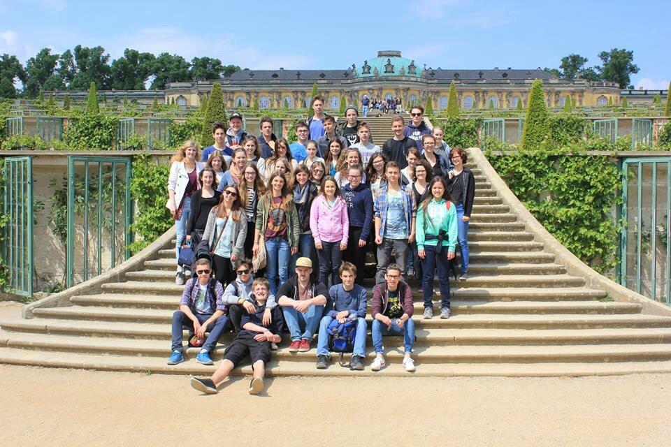 Gruppenfoto Potsdam