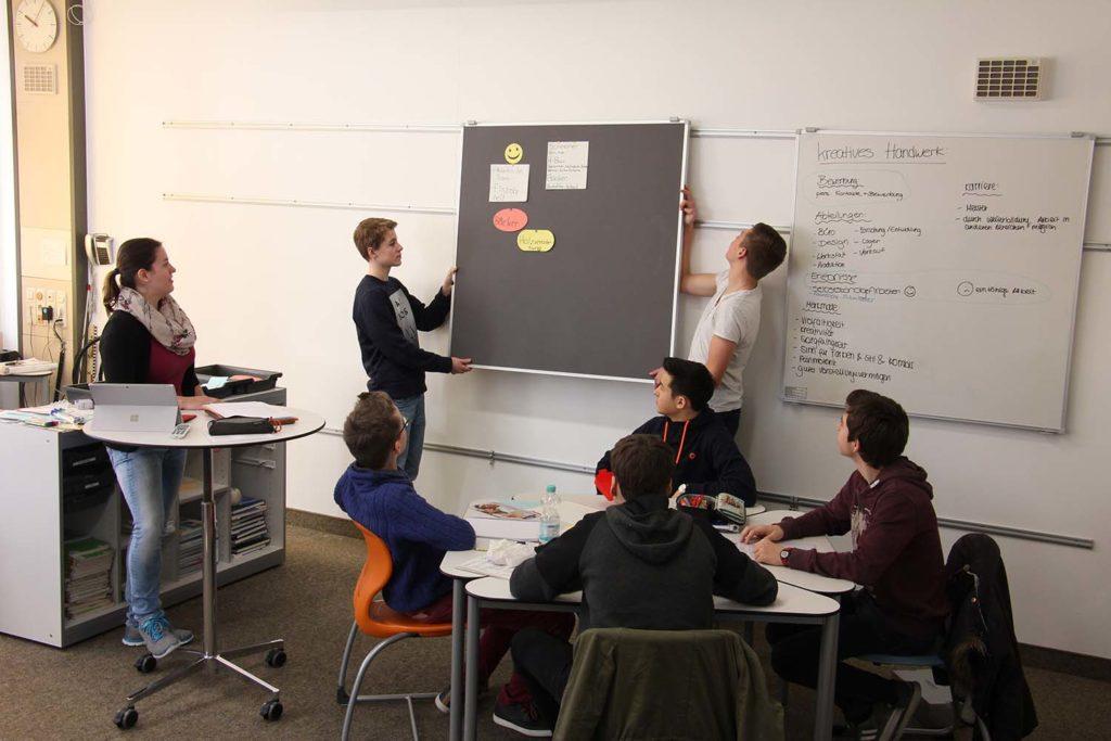 Flexibles Klassenzimmer
