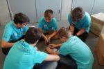 Den ersten Platz im Teamwork gab es nicht für das höchste Kartenhaus sondern für einen respektvollen und konstruktiven Umgang miteinander.